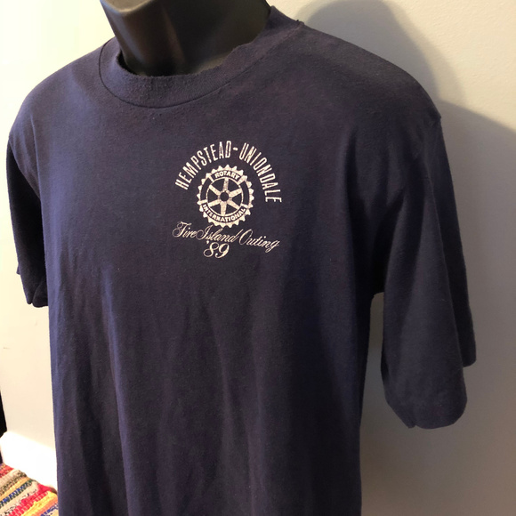 Vintage Other - 1989 Fire Island Outing Shirt Rotary International